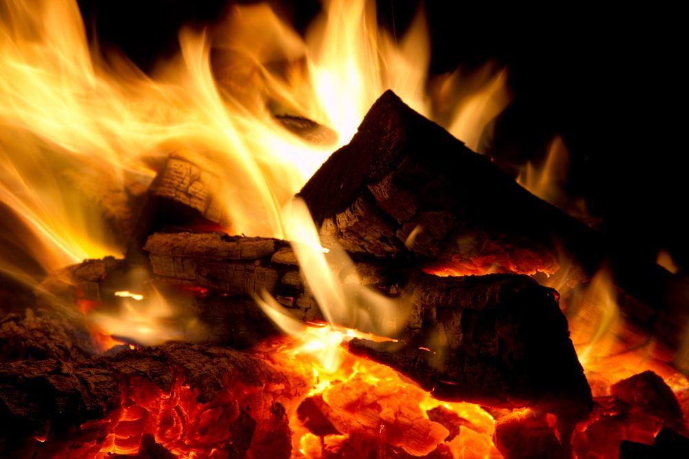 Heizen mit Brennholz